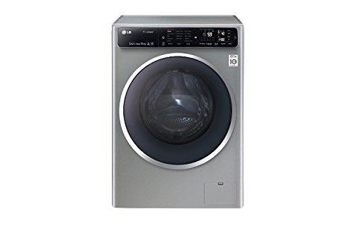 LG F14U1JBS6 Libera installazione Caricamento frontale 10kg 1400RPM A+++-40% Grigio lavatrice