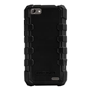 Body Glove Drop Suit Rugged Cell Phone Case for HTC One V (6290) Black (9282801)