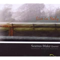 Seamus Blake Live In Italy cover