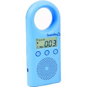 SweetPea3 2 GB MP3 Player for Kids (Blue)