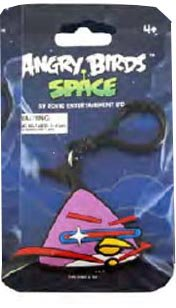 Angry Birds SPACEPVC Backpack Clip Lazer Bird - 1