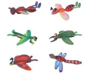 Insect Foam Gliders 8 in (48 pc)