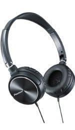 PIONEER 密閉型ダイナミクスステレオヘッドホン SE-MJ71-K ブラック