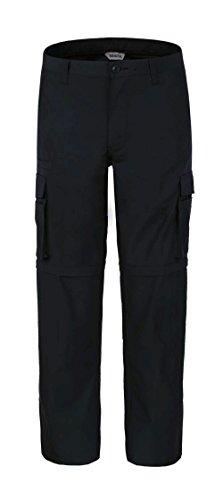 bienzoe-mens-outdoor-quick-dry-waterproof-convertible-cargo-pantsblack-3232