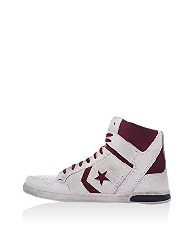Converse Hightop Sneaker Weapon HI weiß/bordeaux