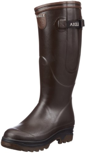 Aigle Unisex Parcours ISO Wellies 85015 Brown 9 UK