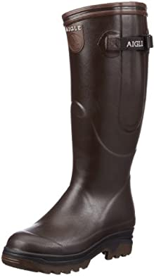 Aigle Unisex Parcours ISO Wellies 85015 Brown 4 UK