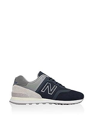 New Balance Zapatillas 574 (Azul / Gris)