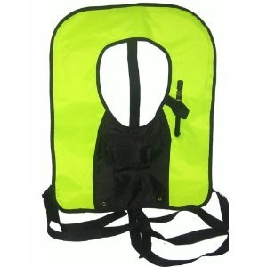 New! Bright Yellow Snorkel Vest with attached pocket