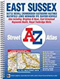 A-Z East Sussex Spiral (A-Z Street Atlas)