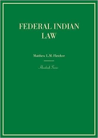 Federal Indian Law (Hornbook)