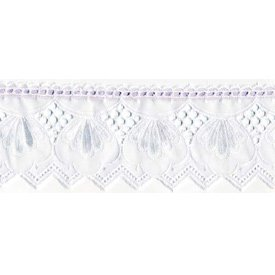 Royal Classic Cradle Bedding - Color Lavender - Size 18X36 back-812297