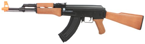 Kalashnikov AK47 Entry-Level AEG, Plastic Body/Gearbox/Gears, Box, Black/Brown
