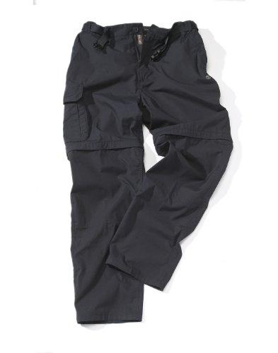 Craghoppers Mens Kiwi Zip Off Trousers Dark Navy W32