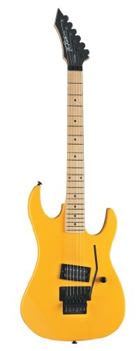 B.C. Rich Gry Retro Gunslinger Solid-Body Electric Guitar, Caution Yellow