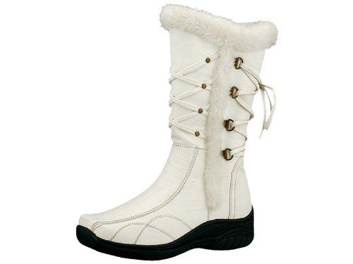 Reneeze K-28246 Kids Mid-Calf Boot- White, Size 4