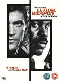 Lethal Weapon : The Complete Collection (4 Disc Box Set) [1987] [DVD]