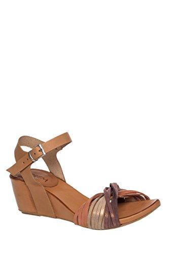 Okan Mid Wedge Heel Sandal