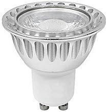 GU10 7WHalogen 65W CRIgt80 1xCOB 630LM 3000K Warm White LED Spot Bulb AC 220-240V