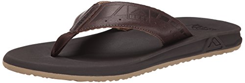 Reef Phantom Le - Flip-flop Uomo, Marrone (Brown/Dark Brow), 46 EU