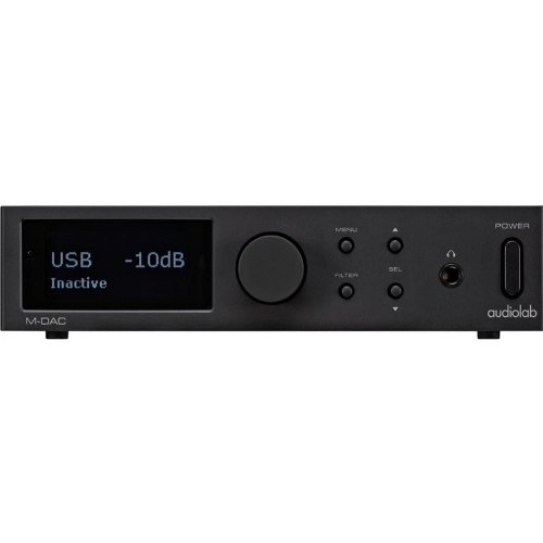 AUDIOLAB M-DAC DIGITAL TO ANALOGUE CONVERTOR (BLACK)