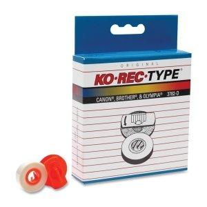 Ko-Rec-Type 3782-D Premium Typewriter Lift-Off Tape for Daisywheel Type Orange Code 3015, AP-14, 6-Pack