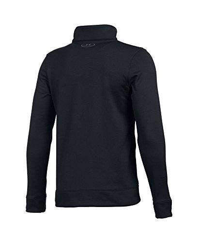 Under Armour Boys' Pennant Warm Up Jacket, Black (001), Youth Medium