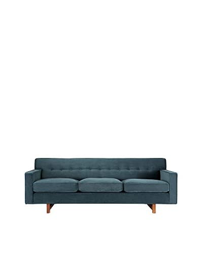 Kardiel Kennedy Mid-Century Modern Classic Sofa, Purple, 84.7 inches Length x 33.5 inches Width x 29.6 inches Height