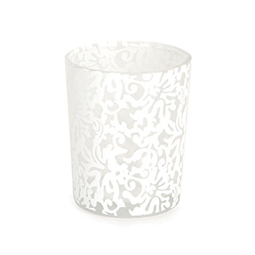 48 White Lace David Tutera Wedding Party Candle Votive Holders