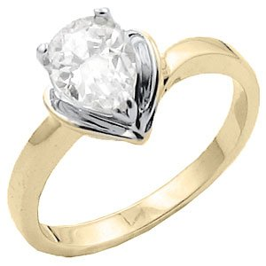 Tqw10331ZCA T10 CZ Pear Shaped Engagement Ring (6)