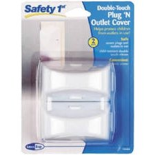 Safety 1st Double-Touch Plug 'N Outlet Covers - 1