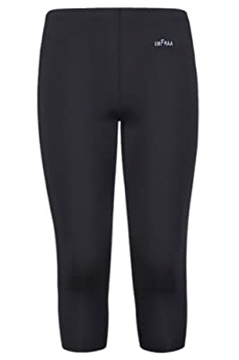 emFraa Skin Tight 3/4 Length Compression Pants Running Base layer men women S ~ 2XL
