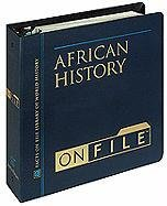 African History on File& #153; , Revised Edition