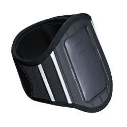 SANWA SUPPLY PDA-MP3C7BK アームバンドスポーツケース ブラック
