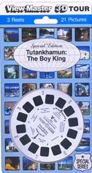 Tutankhamun the Boy King - ViewMaster 3 Reel Set - Buy Tutankhamun the Boy King - ViewMaster 3 Reel Set - Purchase Tutankhamun the Boy King - ViewMaster 3 Reel Set (View Master, Toys & Games,Categories,Learning & Education,History)