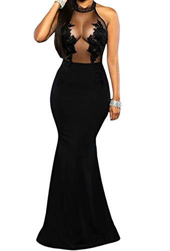 Zkess-Womens-High-Neck-Lace-Prom-Ball-Evening-Gowns-Maxi-Dress