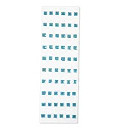 Martha Stewart Crafts Stickers, Blue Dimensional Gems
