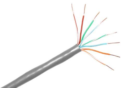 Cp Technologies Cat. 5E 350Mhz Stranded Pvc Utp Bulk Cable (E-207-4P-C5-Lgy)