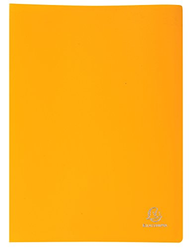 exacompta-20-pocket-display-book-yellow