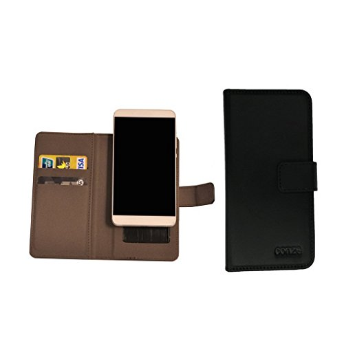 Click to buy Conze PU Leather Flip Case fits Lenovo A328 / A526 / A2010 / A319 / A316i / A1900 in Black and Gray - From only $9.01
