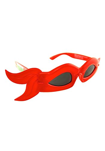 Sunstaches Officially Licensed TMNT bandana Glasses, Red (Ninja Turtles Glasses compare prices)