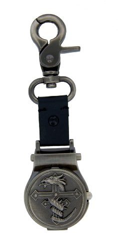 Nemesis Dragon Cross Clip On Watch #B3180CD