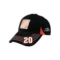 Buy NASCAR #20 Tony Stewart Home Depot Black Velcro Pit Cap by Chase Authentics