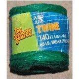 CORDAGE SOURCE 1006G Jute Twine, 140-Feet, Green by HORIZON DISTRIBUTION