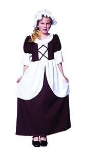 Colonial Girl Costume Medium (8-10)