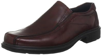 爱步ECCO 男士赫尔辛基真皮商务休闲皮鞋Helsinki Slip Rust $94.95