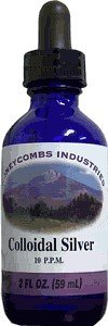 HoneyCombs Colloidal Silver Alcohol Extract (Liquid), 2 oz