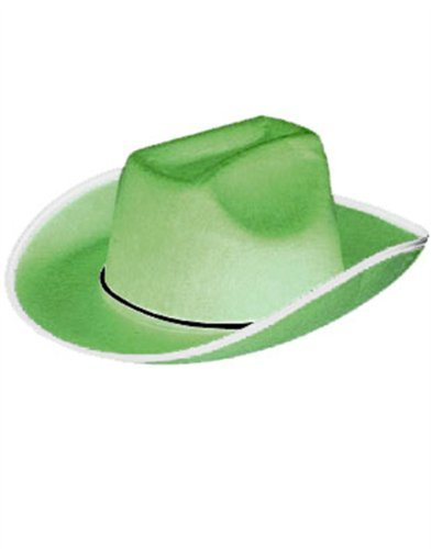 Green Cowboy or Cowgirl Cow Boy Felt Costume Party Hat
