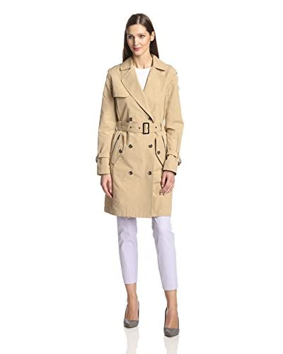aB Women's Emily Double-Breasted Trench