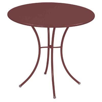 Emu 309064100 Pigalle Tisch ø80, pulverbeschichteter Stahl, indisch braun online bestellen